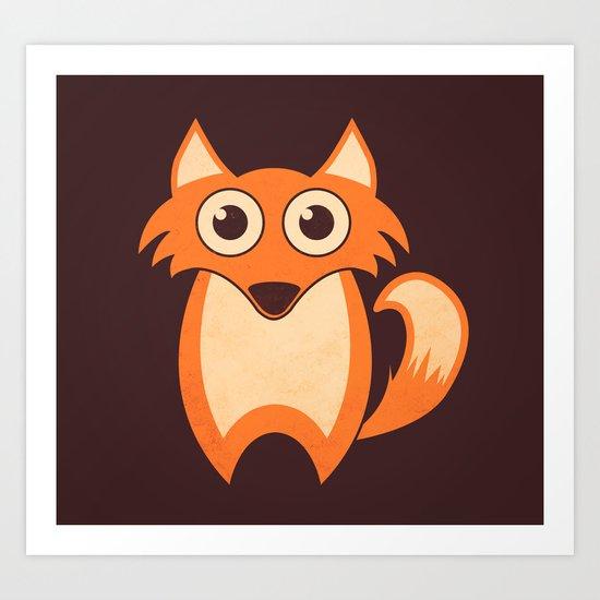 Lil' Fox Art Print