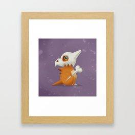 104 Cubone Framed Art Print