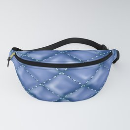Glossy Leather Texture 3 Fanny Pack