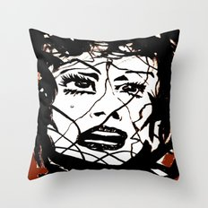 Damsel Throw Pillow
