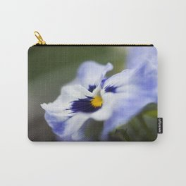 Blue Pansy II Carry-All Pouch