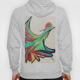 Aquarela bird Hoody
