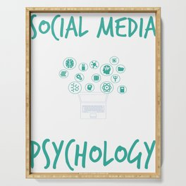 Social Media Can Wait For Psychology Serving Tray