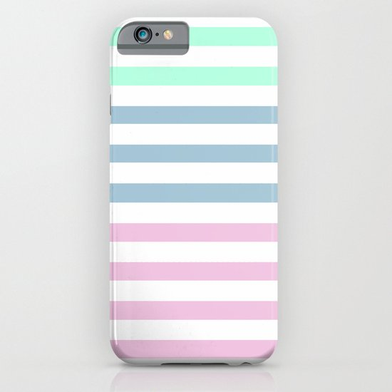 MULTI COLOR STRIPES iPhone & iPod Case