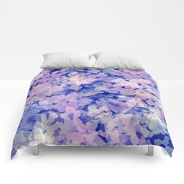 Indigo Evening Floral Comforters