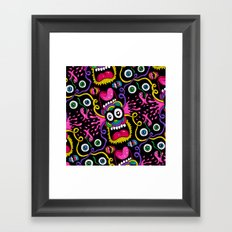 There's Something On Your Face Framed Art Print