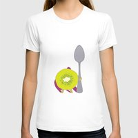 kiwi T-shirts featuring Kiwi! by Ororon