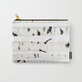 birch  watercolor Carry-All Pouch