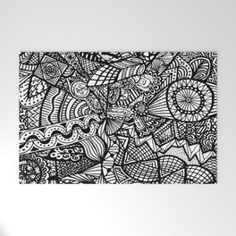 Doodle 5 Welcome Mat