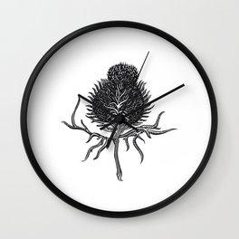 Onopurdum Acanthium Wall Clock