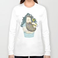bird Long Sleeve T-shirts featuring Bird by Seaside Spirit