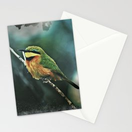 African Little Bee-Eater Bird Stationery Cards