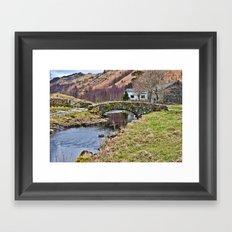 Packhorse Bridge at Watendlath Framed Art Print
