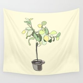 Lemon Tree Wall Tapestry