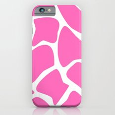 Pink Giraffe  iPhone 6s Slim Case