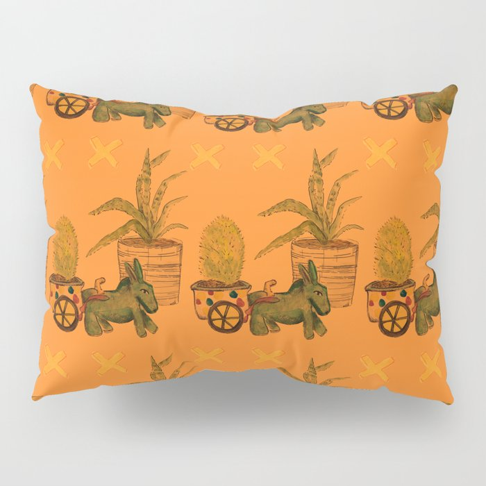 Garden Donkey Pillow Sham