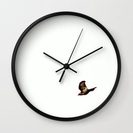 Free Bird5  Wall Clock
