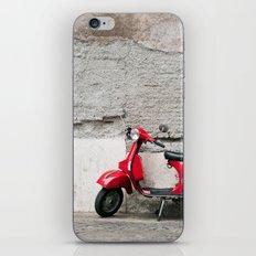 Sexy Red Vespa iPhone & iPod Skin