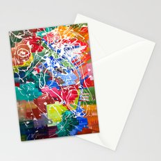 Color Collision Stationery Cards