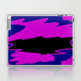 Trisha Blue Water Justified By Patricia A. Lopez Laptop & iPad Skin