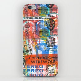 Stereo Werewolf No.1 iPhone Skin
