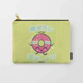 Happy Run Donut Carry-All Pouch