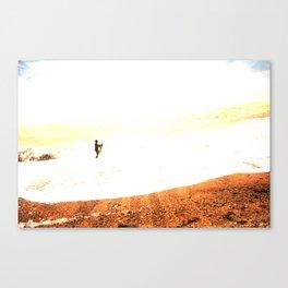 14/ Silver Surfer by Jack Shoobridge Canvas Print