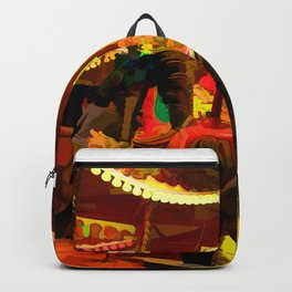 Midnight Carousel Ride Backpack