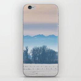Spanish Peaks Fog iPhone Skin