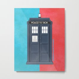 10th Doctor - DOCTOR WHO Metal Print
