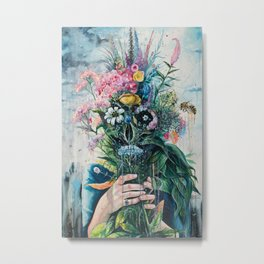 The Last Flowers Metal Print