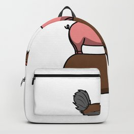 Whether pork chicken or bull I grill any animal Backpack