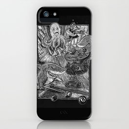Game Sharks iPhone Case