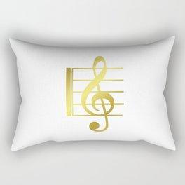 Musical symbol | music clef gift idea Rectangular Pillow