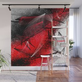 under the spotlight abstract digital painting Wall Mural