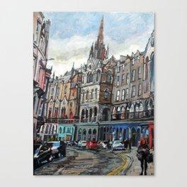 Victoria Street, Edinburgh Canvas Print