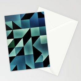 :: geometric maze VII :: Stationery Cards