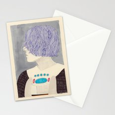 Wet Hair Stationery Cards