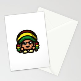 Rasta Mushroom Stationery Cards
