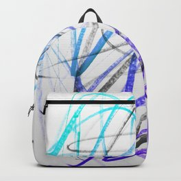 Expressive and Spontaneous Abstract Marker Backpack