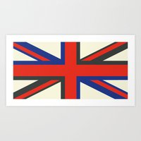 uk Art Prints featuring UK  by Akehworks