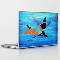 ninja Laptop & iPad Skins featuring Ninja by takingachancexo
