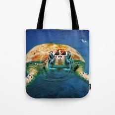 Bajan Turtle Tote Bag