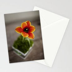 FLOWER ON FIRE Stationery Cards