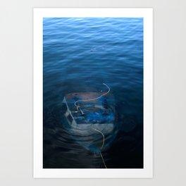 Sunk Art Print