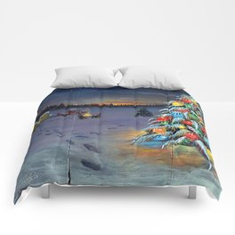 Christmas Campers Comforters