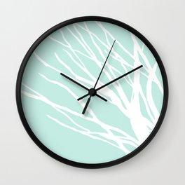 Aqua Blues Wall Clock