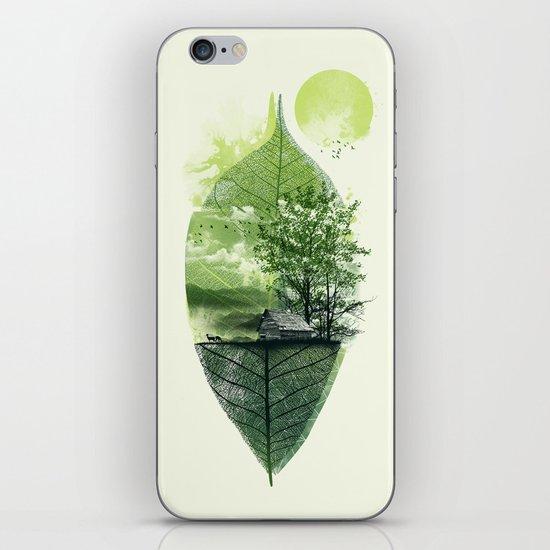 Live in Nature iPhone & iPod Skin