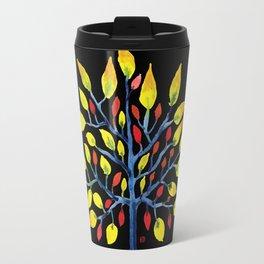 Yellow Tree Travel Mug
