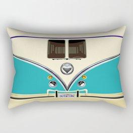 Blue teal minibus lovebug iPhone 4 4s 5 5c 6 7, pillow case, mugs and tshirt Rectangular Pillow